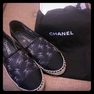 Chanel Mesh Espadrilles